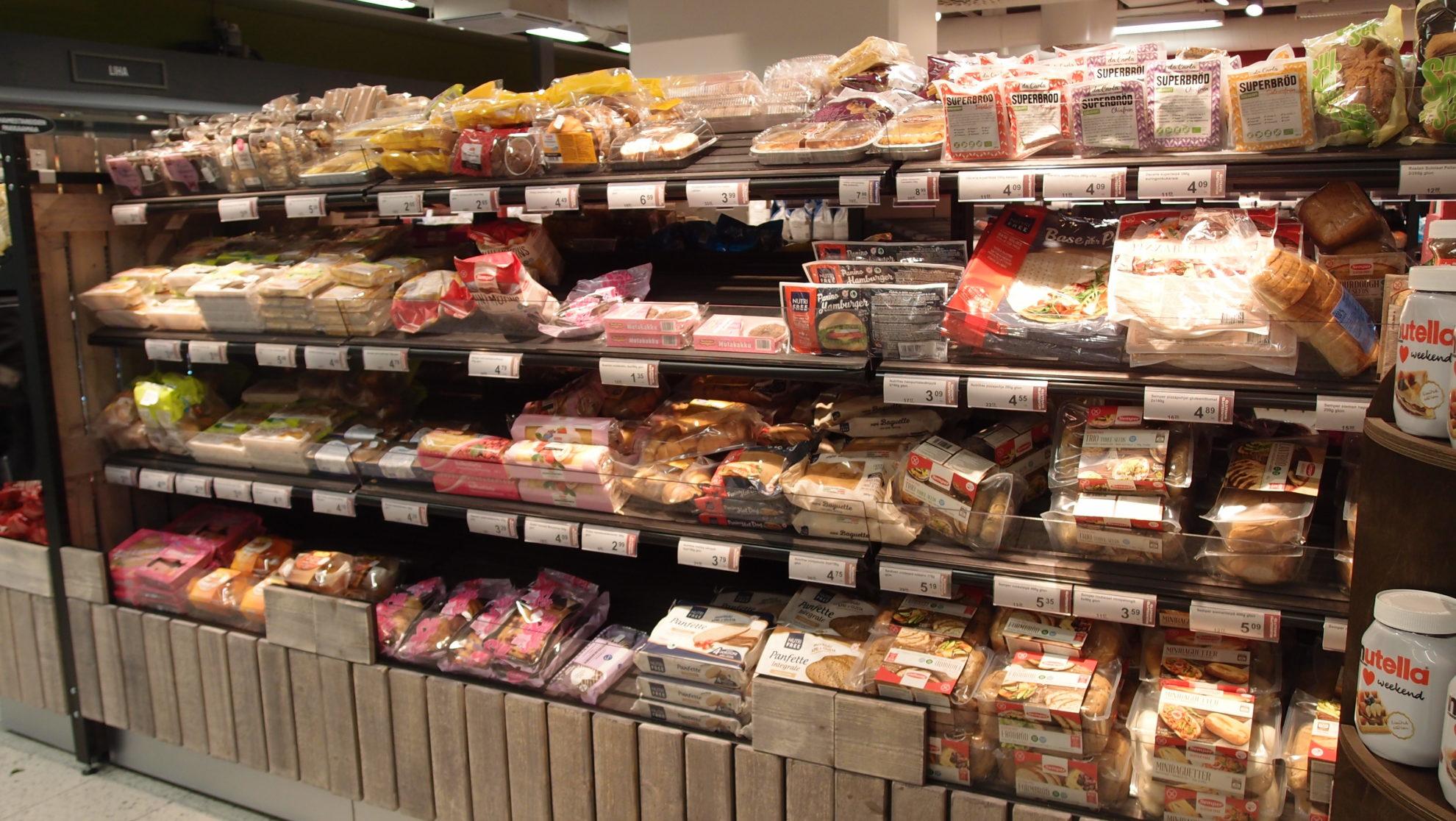 グルテンフリーのパンも種類が豊富!