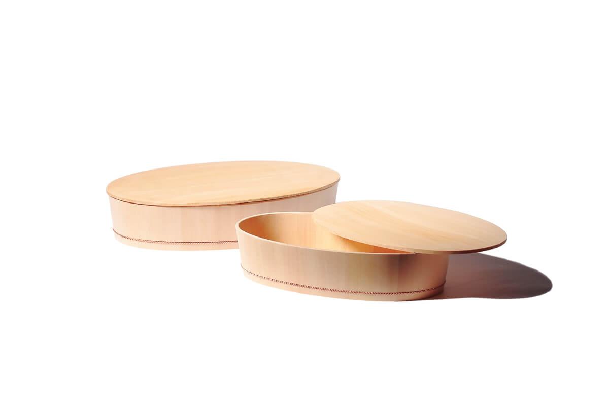 楕円の飯台
