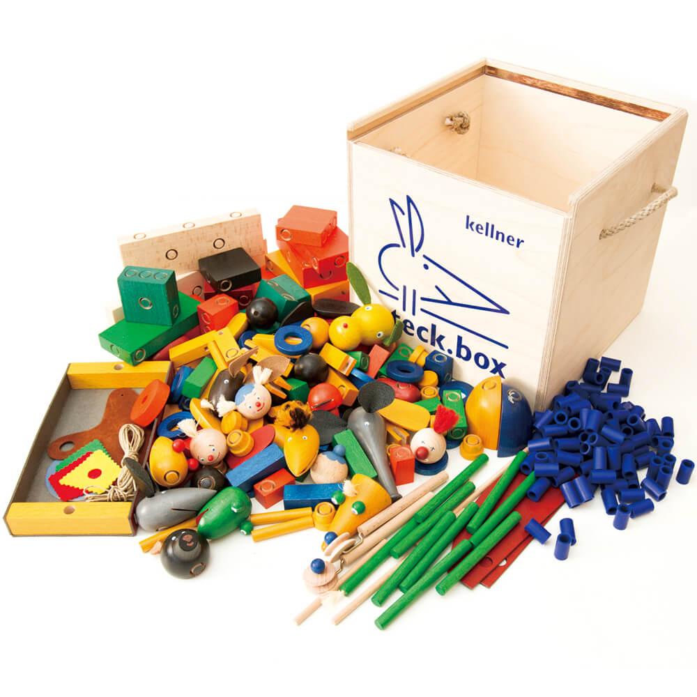 「steck.box」木箱入り