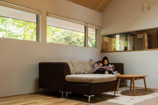 家時間が好きになる。自然をとり込む「窓」の工夫