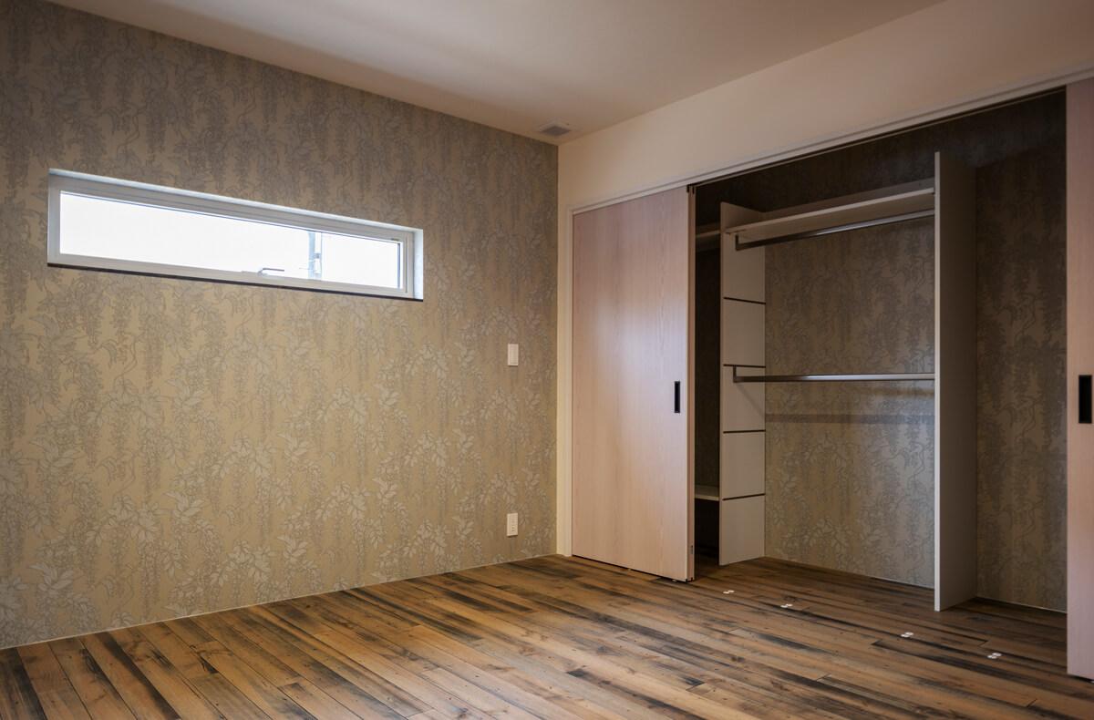 各部屋の収納等に使う建材も、できる限り環境ホルモンや有害化学物質が含まれない製品をセレクト
