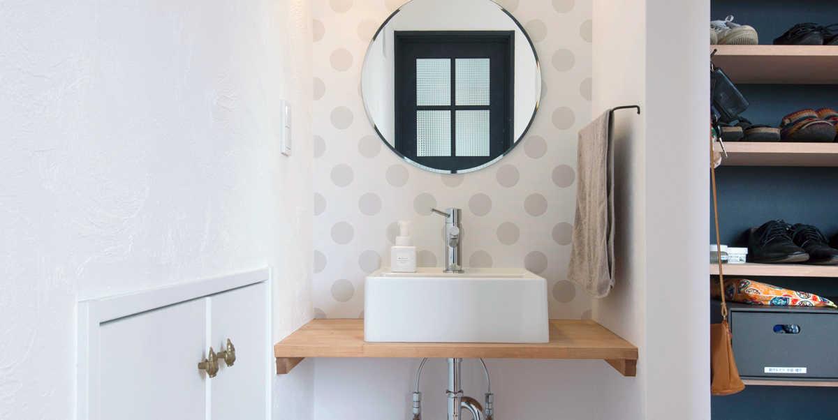 家づくりの条件に合わせて考えよう!「玄関近くに手洗い場」の間取り