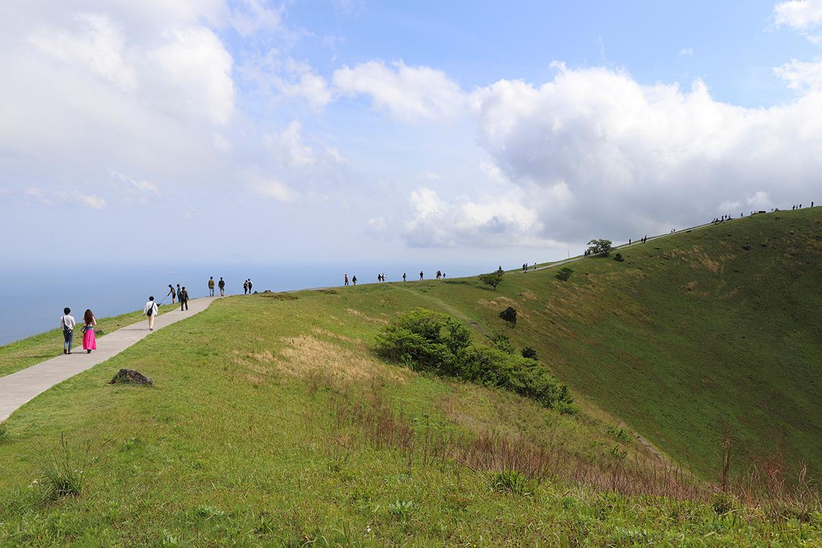1周1kmある山頂遊歩道