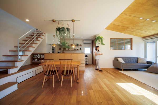計算された家事動線で毎日が暮らしやすい「シンプル・ナチュラル」な家