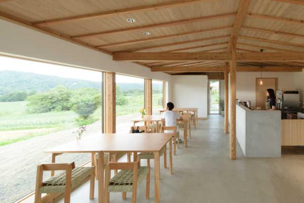 北海道足寄町に建築家設計のカフェ「cafe de camino」(足寄ひだまりファーム)がオープンしました|HOUSE&HOUSE 一級建築士事務所