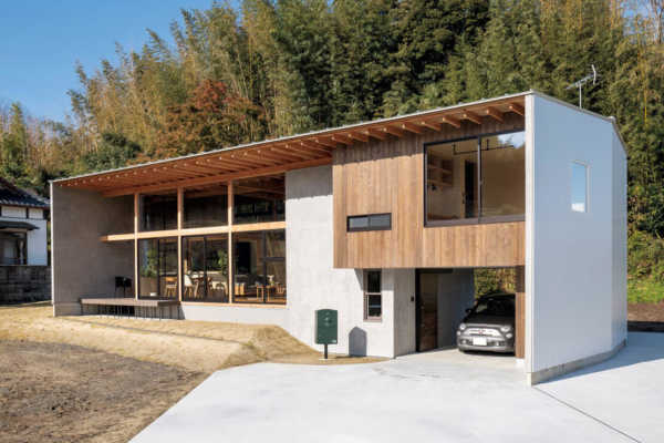 自然と風景を楽しむ家