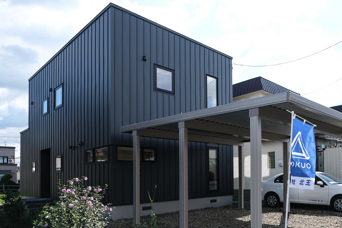 先月、札幌市内でオープンハウスが行われたQUAREA No.04