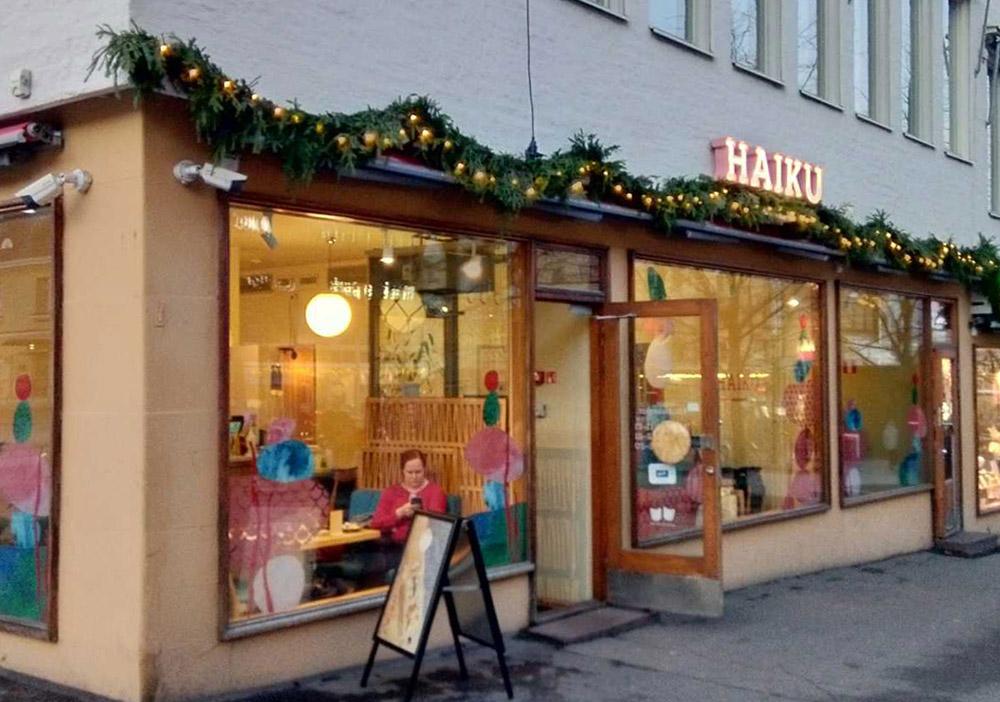 ヘルシンキにある寿司店「HAIKU」
