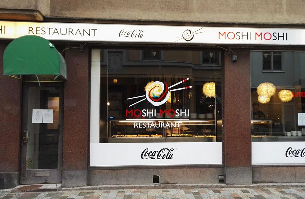 寿司レストラン「MOSHI MOSHI(もしもし)」