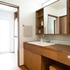 これからの住宅の標準仕様に?洗面脱衣室+ランドリールームのあ…