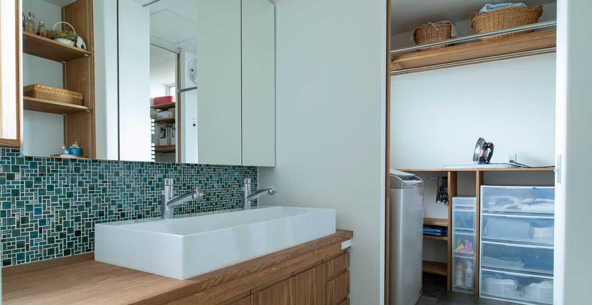 これからの住宅の標準仕様に?洗面脱衣室+ランドリールームのある暮らし