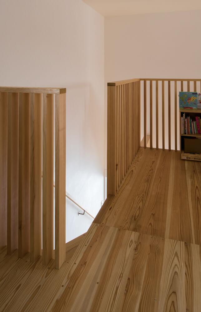 娘さんの成長とともに、遊び場になるなど目的が変化するであろう2階のホール