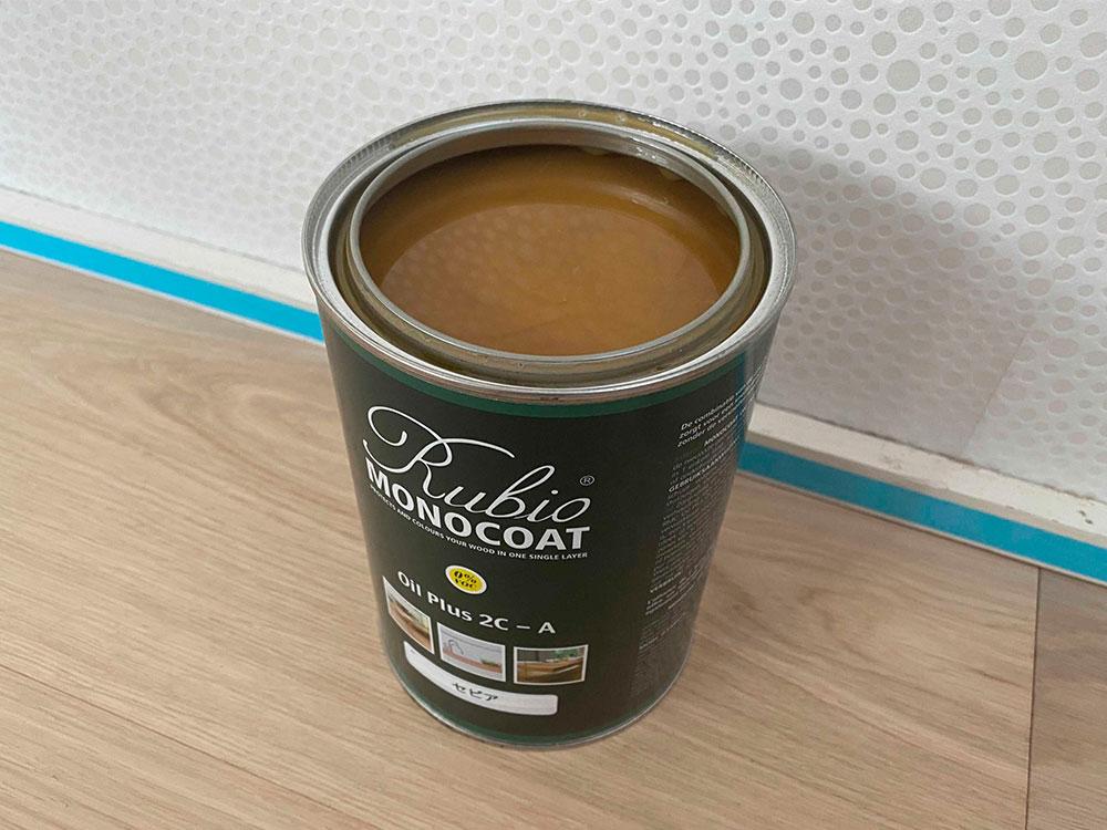 ベルギー生まれの自然健康塗料。完全VOCフリーで主成分はアマニオイル