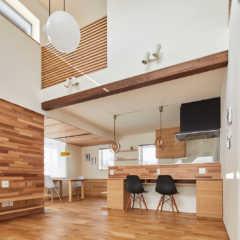 居心地のいいおうち時間を追求した「ZEH仕様の提案型住宅」
