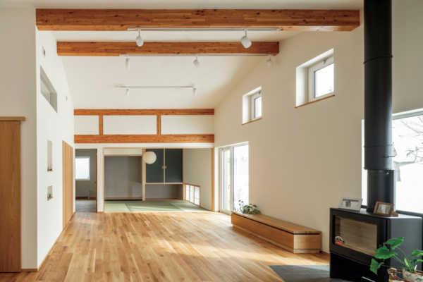 ほっと、くつろげる芦野組の家〜自然素材の健康住宅5選