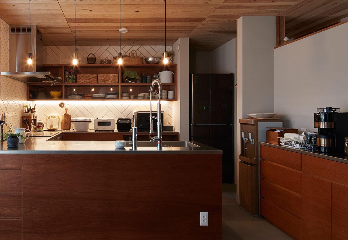 キッチン家電はスペースにゆとりをもたせることが、使い勝手を良くする重要なポイント