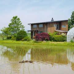 高性能&エコで快適。岩手の気候風土に沿ったカフェ併設の住まい