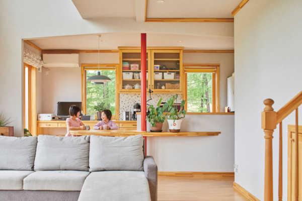 暮らしやすさへの配慮が隅々にまで行き渡る才色兼備の農家住宅