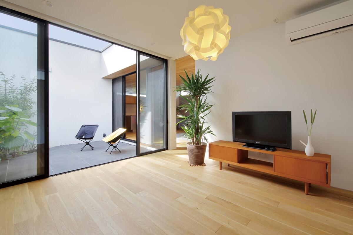 将来個室にもできるフレキシブルな空間
