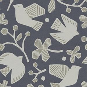 大人カワイイデザインが増加中。鳥や魚、動物などの絵柄は、好みが分かれやすいところ(写真提供/(株)サンゲツ)