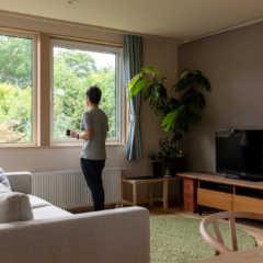 趣味を取り込み暮らしを楽しむ「2階リビング」の家