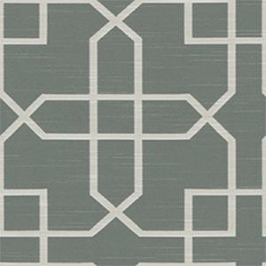 建築ではモザイクタイルでみることが多いアラベスク模様を、織柄で表現したデザインの生地