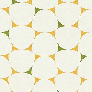 緩やかな三角がぎっしり詰まったような幾何学模様