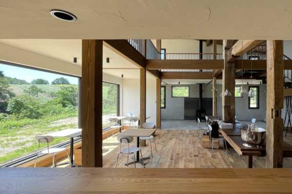 北海道栗山町にて HOUSE&HOUSE一級建築士事務所が設計を行ったレストラン「料理と借景サメオト」がオープンしました HOUSE&HOUSE 一級建築士事務所