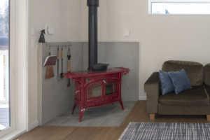 「炉台」や「炉壁」が、部屋の印象を決める!